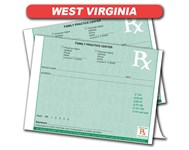 West Virginia Rx Pad
